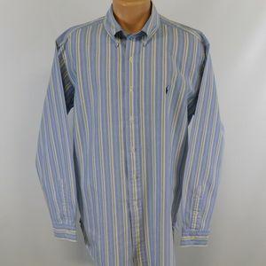 Ralph Lauren long sleeve button down shirt.  XL